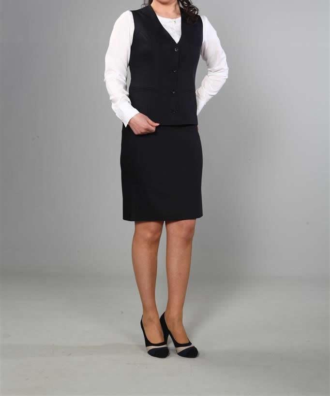 Siyah Hostes kıyafeti