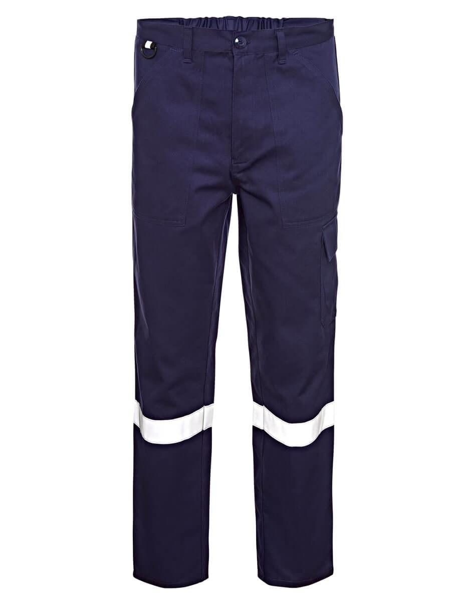 Cepli Reflektörlü İş Pantolonu