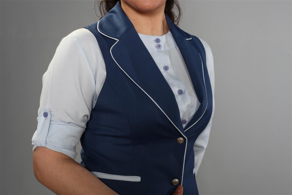 Mavi Hostes kıyafeti