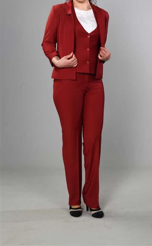 kırmızı Otel Kıyafeti
